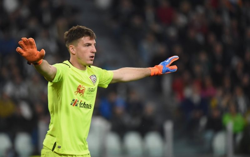 Cagliari goalkeeper wanted by Inter and Roma
