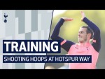 TRAINING | BASKETBALL TOURNAMENT | 🏀 Shooting hoops at Hotspur Way!
