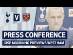PRESS CONFERENCE | JOSE MOURINHO PREVIEWS WEST HAM UNITED