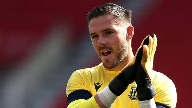 Palace sign keeper Butland from Stoke