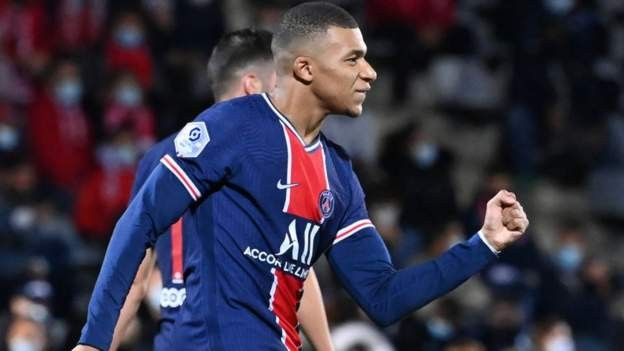 Mbappe scores twice as PSG win comfortably