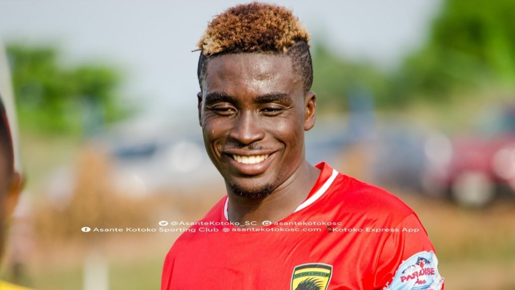 I didn't leave Kotoko because of the competition – Patrick Yeboah insists
