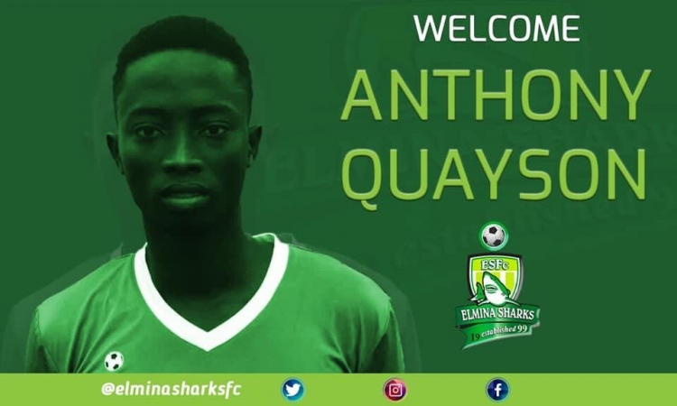 Anthony Quayson joins Elmina Sharks on loan