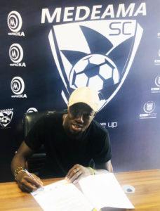 Medeama SC announce signing of striker Abass Mohammed