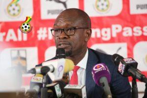 CK Akonnor names Ghana's starting XI for Mali encounter