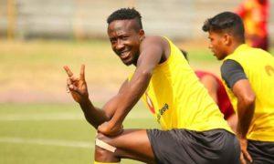 I'm a striker who scores magical goals – Hearts forward Danjuma Kuti