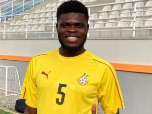 Midfielder Thomas Partey excited after joining Black Stars camp after Arsenal move
