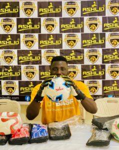Richard Attah elated after signing sponsorship deal with Ashlid Enterprise