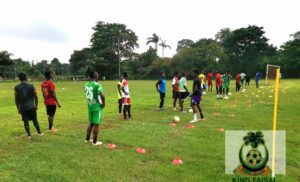 PICTURES: King Faisal step up pre-season training as preparation for new season continues