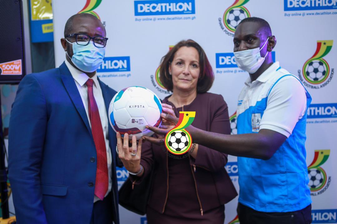 PICTURES: GFA sign 4-year partnership deal with Decathlon Ghana