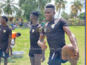 PICTURES: GPL hungry Hearts of Oak intensify pre-season training