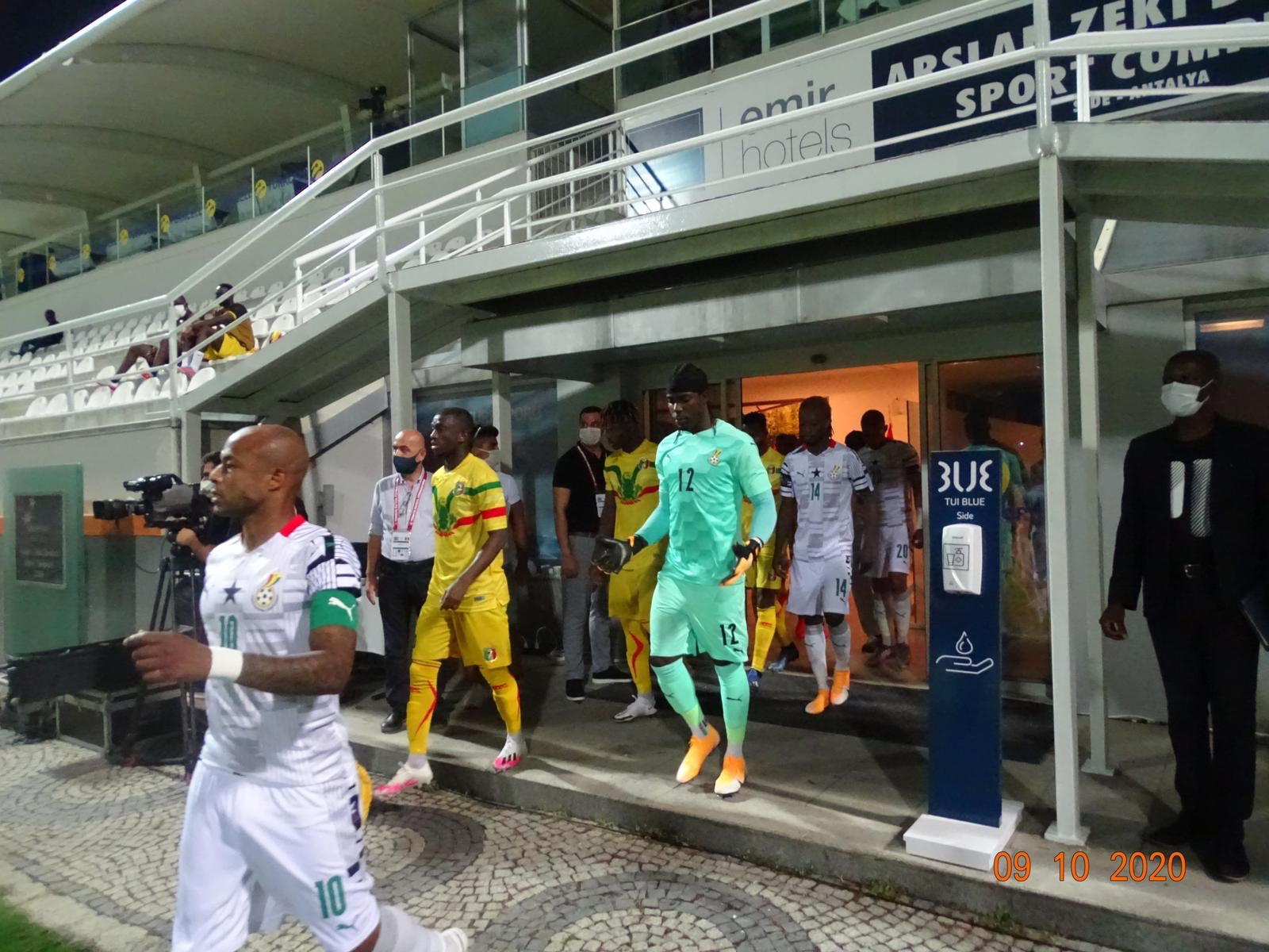 Andre Ayew makes humble plea after Black Stars friendlies