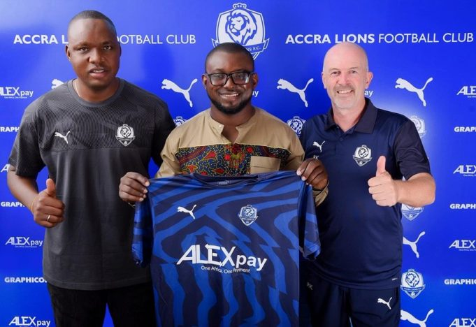 OFFICIAL: ALEXpay to sponsor Accra Lions FC for 20/21 season