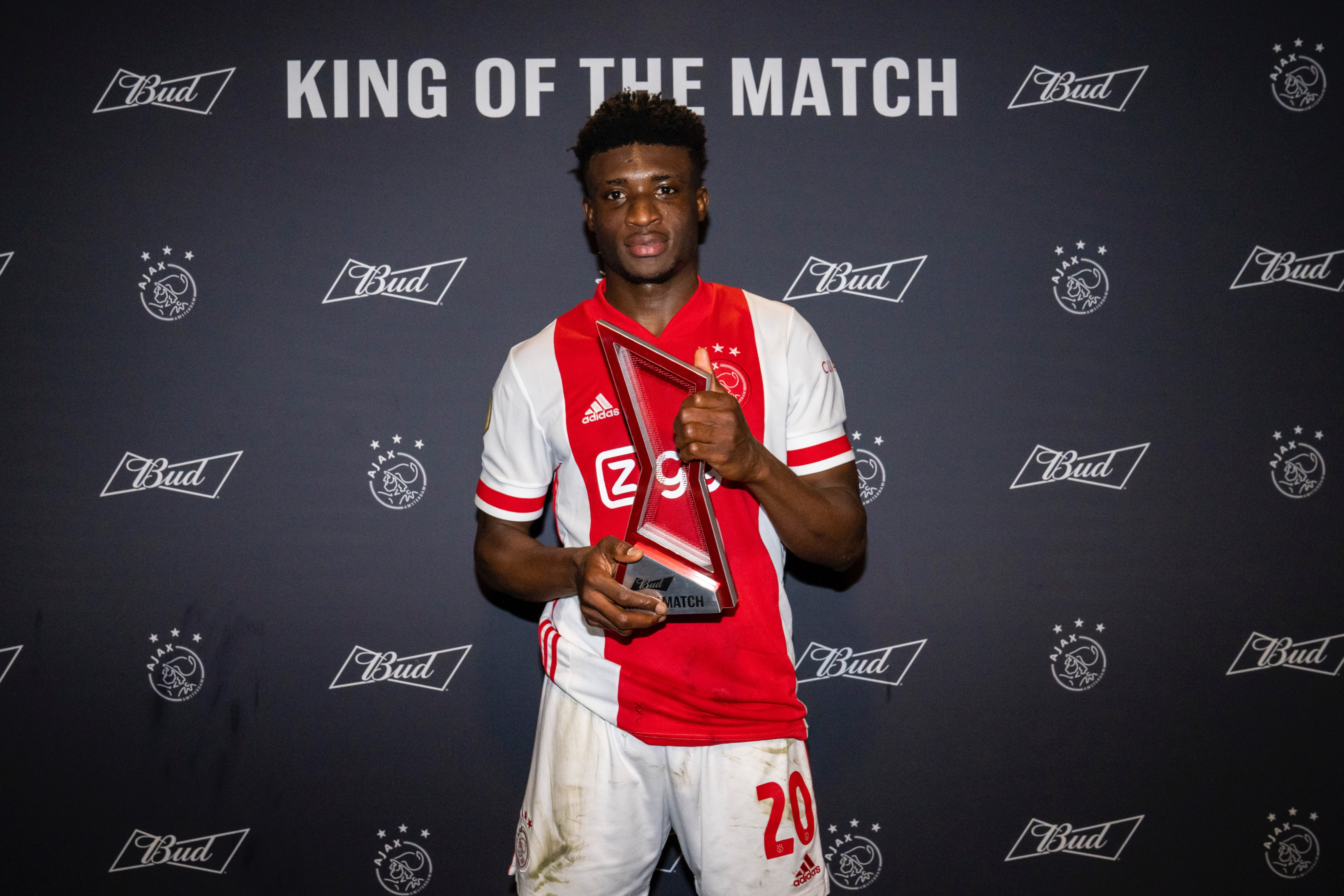 Mohammed Kudus earns MVP award after scintillating performance against SC Heerenveen