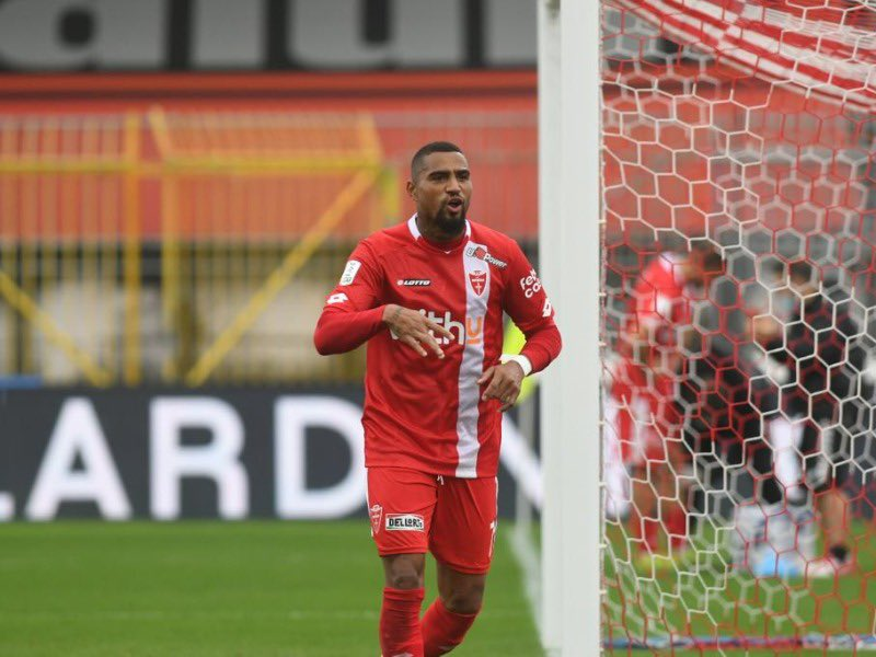 Kevin Prince-Boateng scores debut goal in AC Monza home defeat to Chievo