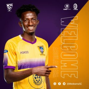 Medeama SC sign Baba Abdulai on a 3-year deal