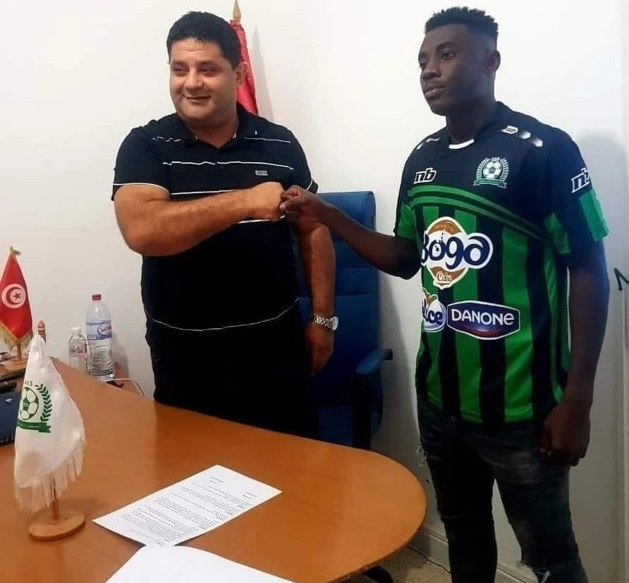 Tunisian side AS Soliman sign Elvis Kyei-Baffour from Liberty