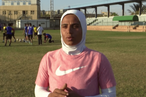 Faiza Heidar becomes first woman to coach a men's pro team in Egypt