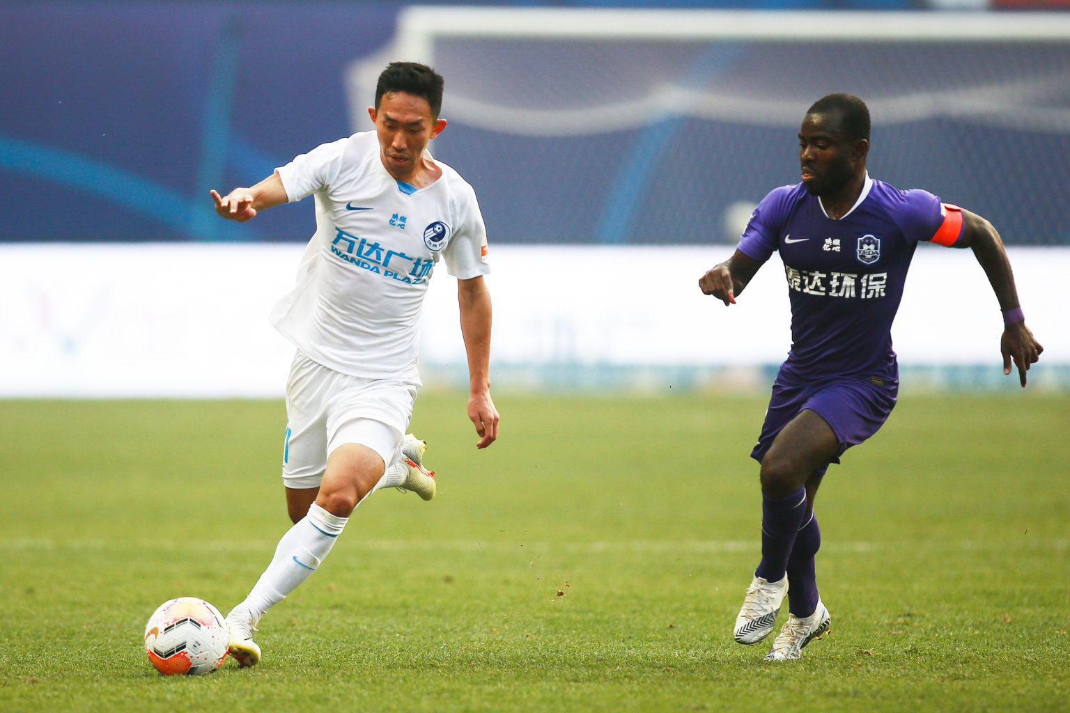 VIDEO: Watch Frank Acheampong's sensational brace that powered Tianjin TEDA to victory against Dalian Pro