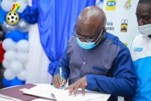 Ghana FA signs four-year partnership agreement with Decathlon as Official Retail partner