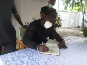 Stephen Appiah and John Paintsil show love to ex-President Rawlings