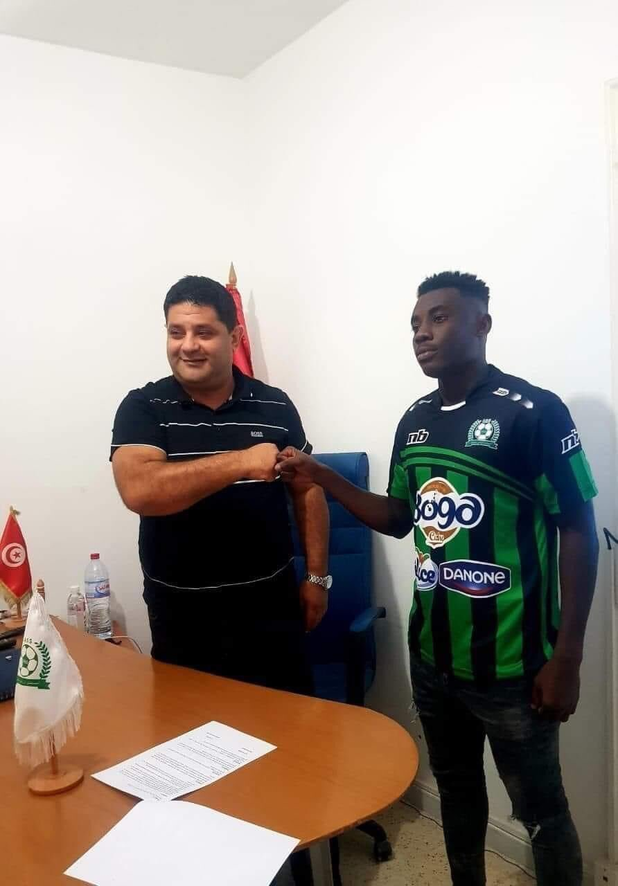 Elvis Kyei Baffour signs for Tunisian side AS Soliman