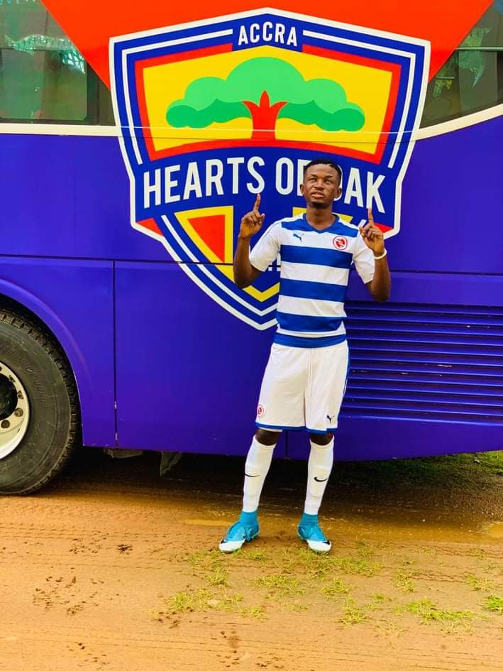 Hearts of Oak complete signing of highly-rated youngster Ismael Ali Razak