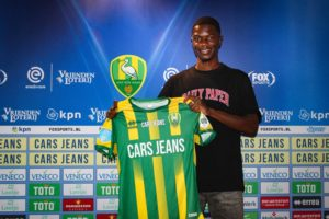 Jamal Amofa grateful to ADO Den Haag for new contract