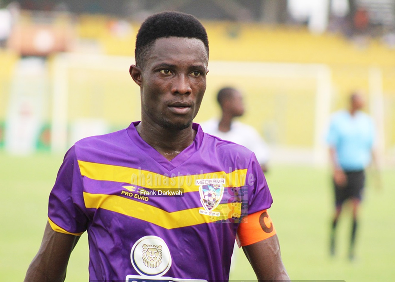 Cancellation of football season affected our flow, says Medeama's Joseph Tetteh Zutah