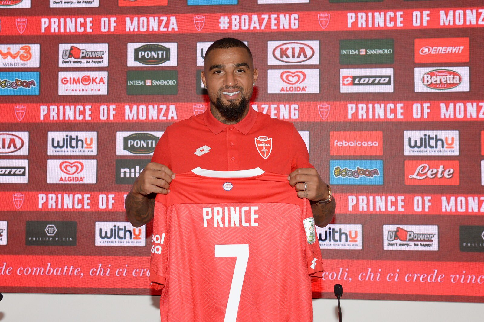 From Barcelona to Berlusconi: Kevin-Prince Boateng's crazy career