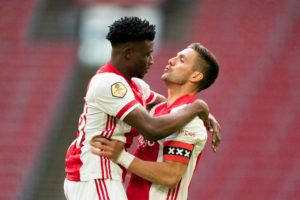 VIDEO: Mohammed Kudus nets debut Eredivisie goal for Ajax