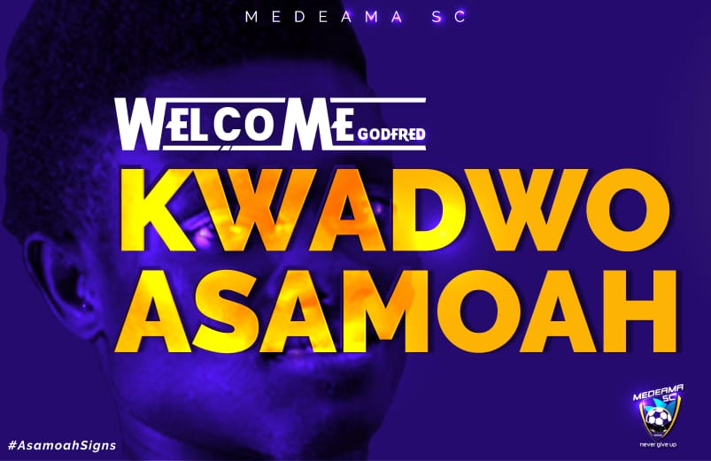 Kwadwo Asamoah will play a significant role in Medeama project this season - Coach Samuel Boadu