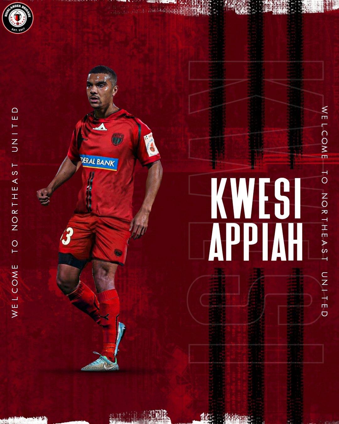 VIDEO: NorthEast United FC unveils attacker Kwesi Appiah