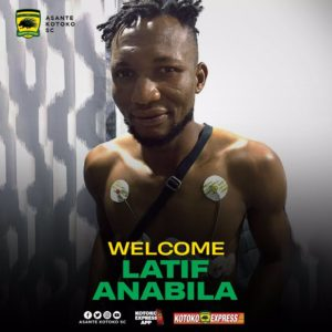 Latif Anabila reveals how coach Maxwell Konadu convinced him to join Kotoko