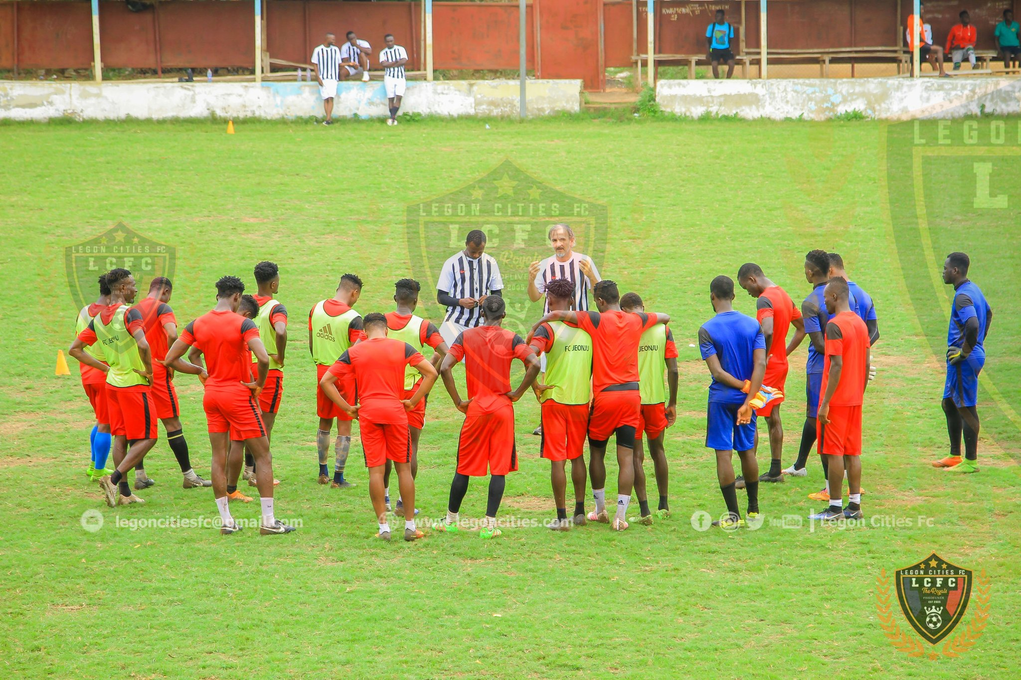 Legon Cities commence training ahead of new season