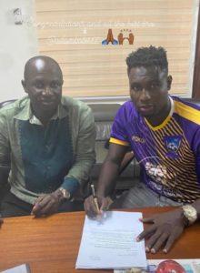 Medeama SC seal signing of striker Abdul Basit