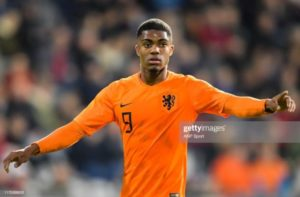 Myron Boadu punished for indiscipline behaviour in camp of Dutch U-21