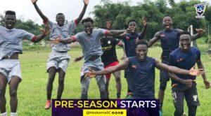 Medeama SC intensify pre-season training ahead of new season