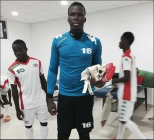 Burkina Faso goalkeeper Mohamed Bailou joins Ashanti Gold SC