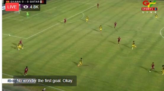 LIVE UPDATES: Ghana 5-1 Qatar