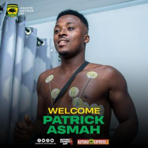 My experience in Europe will bode well for myself and my teammates - Kotoko defender Patrick Asmah