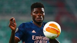 He controlled the midfield - Arteta impressed with Thomas Partey full debut in Europa League win