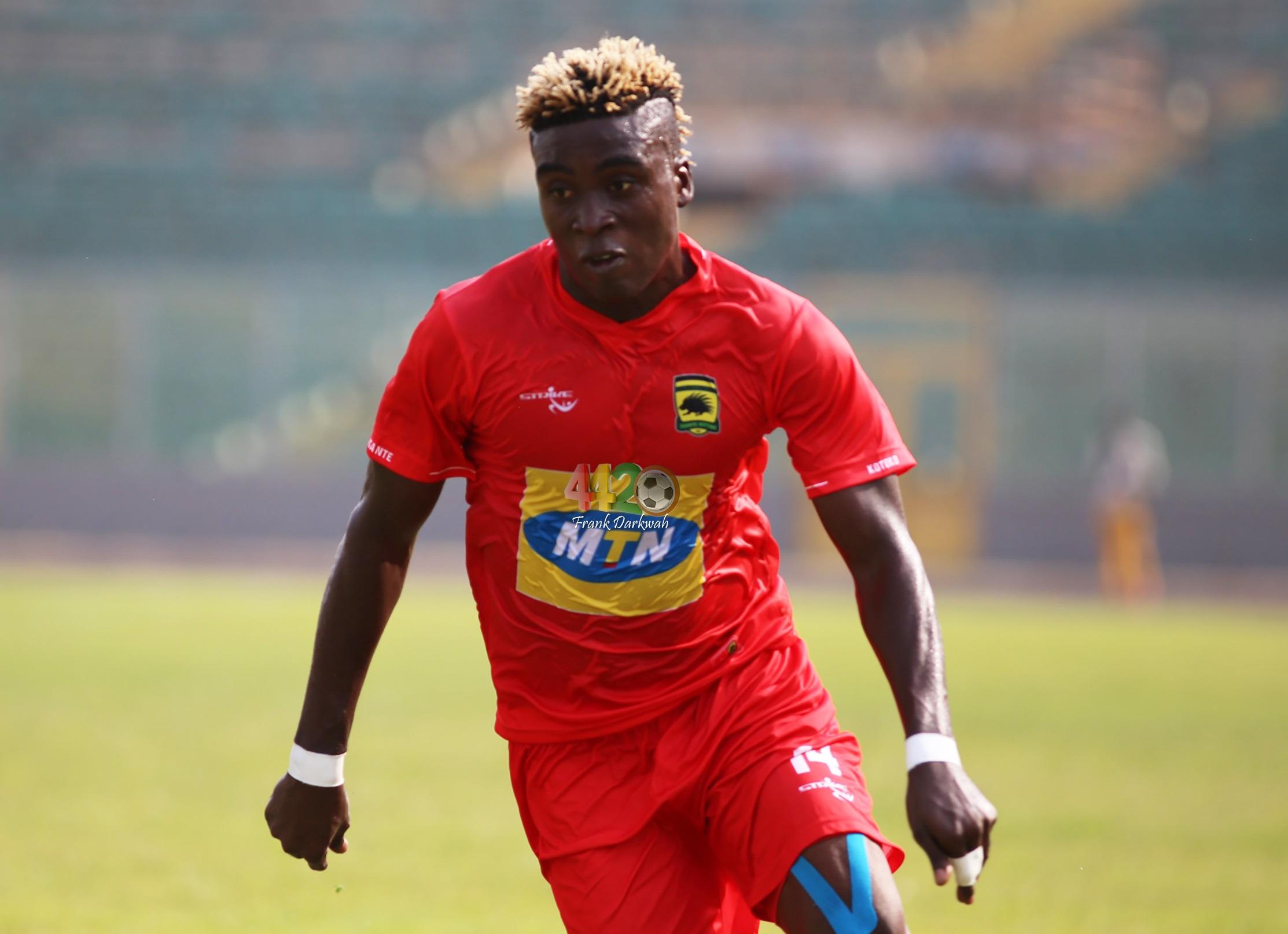 I'm not happy leaving Kotoko – Patrick Yeboah