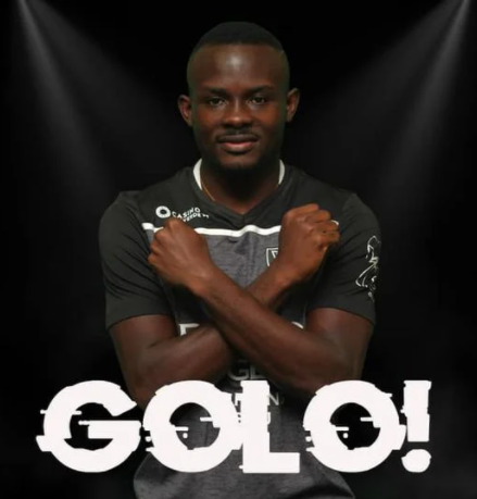 Ghanaian international Paul Ayongo scores debut goal as Academico Viseu beat Benfica B