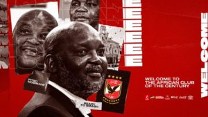 Mosimane appointed as Al Ahly new coach