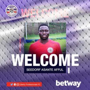 Liberty sign talented midfielder Seedorf Asante