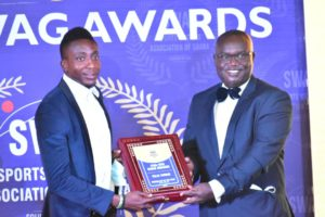 Kotoko's Felix Annan named Local Footballer of the Year at the 2020 SWAG Awards