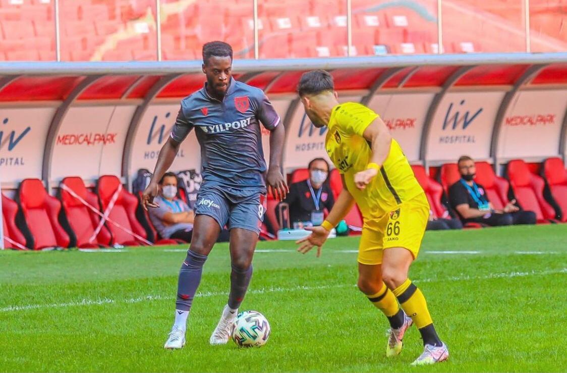 Winger Edwin Gyasi makes Samsunpor debut in home defeat to İstanbulspor