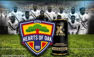 Hearts of Oak to sign partnership deal with Adonko Next Level Energy Drink