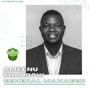 Ameenu Shardow appointed Dreams FC General Manager